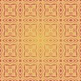 Modelo inconsútil caliente del amarillo anaranjado Fotos de archivo libres de regalías