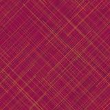 Modelo inconsútil caliente Líneas al azar Colores vibrantes Extracto de la tela escocesa ilustración del vector