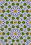 Modelo inconsútil cinco de Abadan Imagen de archivo