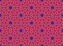 Modelo inconsútil colorido árabe de Marruecos Imágenes de archivo libres de regalías