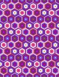 Modelo inconsútil colorido brillante abstracto Vector Imagenes de archivo