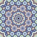 Modelo inconsútil complejo de Agadir Fotos de archivo libres de regalías