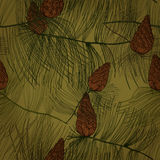 Modelo inconsútil con el árbol de pino stock de ilustración