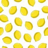Modelo inconsútil con el limón libre illustration