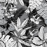 Modelo inconsútil con follaje, ramas y hojas Rebecca 36 fotografía de archivo libre de regalías