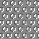 modelo inconsútil con formas y símbolos geométricos Imagen de archivo libre de regalías