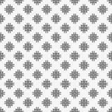 modelo inconsútil con formas y símbolos geométricos Fotos de archivo