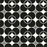 modelo inconsútil con formas y símbolos geométricos Foto de archivo