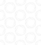 modelo inconsútil con formas y símbolos geométricos Imagenes de archivo