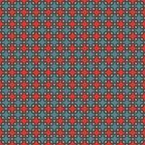 Modelo inconsútil con las figuras geométricas repetidas Ornamento geométrico oriental Papel pintado del mosaico Foto de archivo