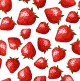 Modelo inconsútil con las fresas. libre illustration