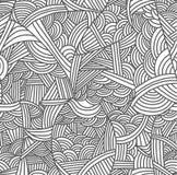 Modelo inconsútil con las ondas a mano libre illustration