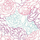 Modelo inconsútil con las rosas Libre Illustration