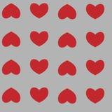 Modelo inconsútil con los corazones libre illustration