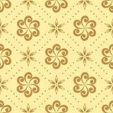 Modelo inconsútil con los elementos geométricos Imagen de archivo libre de regalías