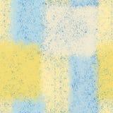 Modelo inconsútil con los elementos rectangulares de la armadura en colores en colores pastel azules, amarillos, blancos libre illustration