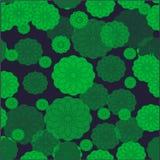 Modelo inconsútil con los modelos del color verde de los colores brillantes Fotografía de archivo libre de regalías