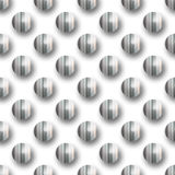 Modelo inconsútil con los puntos polka Fotos de archivo libres de regalías