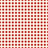 Modelo inconsútil con los puntos rojos stylezed de la tinta Papel digital del concepto de diseño de Halloween, impresión de la ma Fotos de archivo libres de regalías