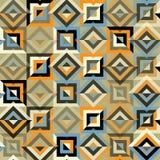 Modelo inconsútil con los triángulos y los Rhombus coloridos Imágenes de archivo libres de regalías