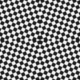 Modelo inconsútil a cuadros monocromático del vector Diseñe para la decoración, materia textil, cubiertas, impresiones libre illustration