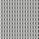 Modelo inconsútil 3D del metal ilustración del vector