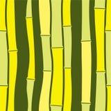 Modelo inconsútil de bambú Foto de archivo libre de regalías