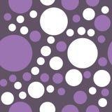 Modelo inconsútil de círculos Imagenes de archivo