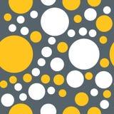 Modelo inconsútil de círculos Imagen de archivo