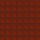 Modelo inconsútil de Chocolat Ilustración del Vector