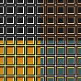 Modelo inconsútil de cuadrados Fotos de archivo libres de regalías