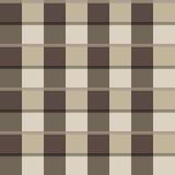 Modelo inconsútil de cuadrados en beige Ilustración del Vector