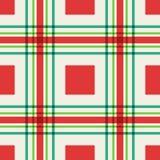 Modelo inconsútil de cuadrados y de líneas Fotos de archivo libres de regalías