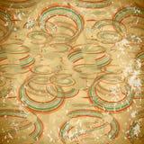 Modelo inconsútil de espirales descolorados coloridos Fotos de archivo libres de regalías