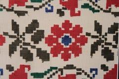 Modelo inconsútil de Ethno Ornamento ucraniano étnico Impresión tribal del arte, fondo repetible Diseño de la tela, papel pintado Foto de archivo