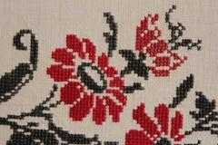 Modelo inconsútil de Ethno Ornamento ucraniano étnico Impresión tribal del arte, fondo repetible Diseño de la tela, papel pintado Fotografía de archivo libre de regalías