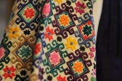 Modelo inconsútil de Ethno Ornamento ucraniano étnico Impresión tribal del arte, fondo repetible Diseño de la tela, papel pintado Fotos de archivo libres de regalías