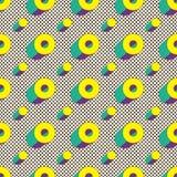 Modelo inconsútil de formas geométricas Cartel de Minimalistic Papel pintado de Digitaces Fotografía de archivo libre de regalías