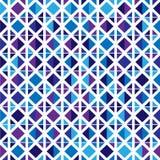 Modelo inconsútil de formas geométricas coloreadas Imagen de archivo