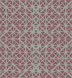 Modelo inconsútil de Japón del teñido anudado del ornamento del vector orgánico tradicional del kimono Textura del batik de la ac fotos de archivo libres de regalías