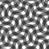 Modelo inconsútil de líneas circulares Papel pintado geométrico Enrejado inusual ilustración del vector