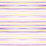Modelo inconsútil de la acuarela rayada horizontal Imágenes de archivo libres de regalías