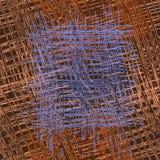 Modelo inconsútil de la culpabilidad rayada y a cuadros del grunge áspero en el marrón, azul libre illustration