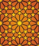 Modelo inconsútil de la estrella islámica Imagenes de archivo