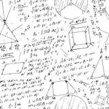 Modelo inconsútil de la fórmula Fotos de archivo