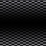 Modelo inconsútil de la fibra del carbón Fotografía de archivo libre de regalías