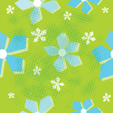 Modelo inconsútil de la flor Imagen de archivo libre de regalías