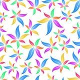 Modelo inconsútil de la flor Imagen de archivo