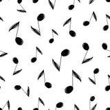 Modelo inconsútil de la música del vector stock de ilustración