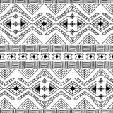 Modelo inconsútil de la materia textil ornamental étnica Fotos de archivo